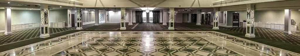 Зал отеля Малахит